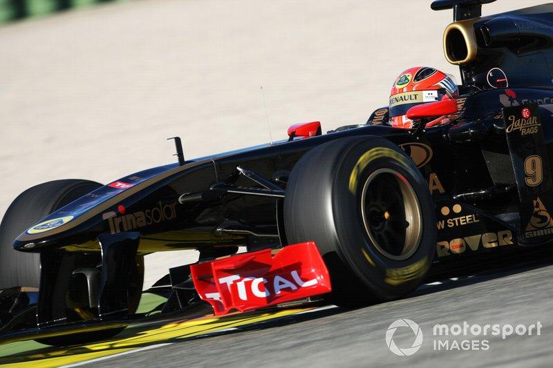 Robert Kubica, Lotus Renault GP R31