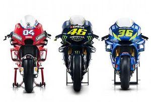 Las nuevas motos de Ducati, Yamaha y Suzuki para 2019