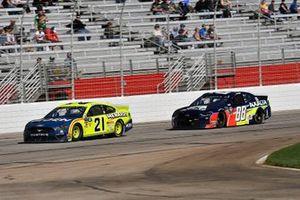 Paul Menard, Wood Brothers Racing, Ford Mustang Menards / MOEN, Alex Bowman, Hendrick Motorsports, Chevrolet Camaro Axalta