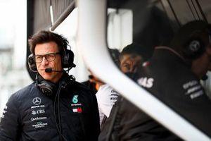 Toto Wolff, directeur exécutif de Mercedes AMG