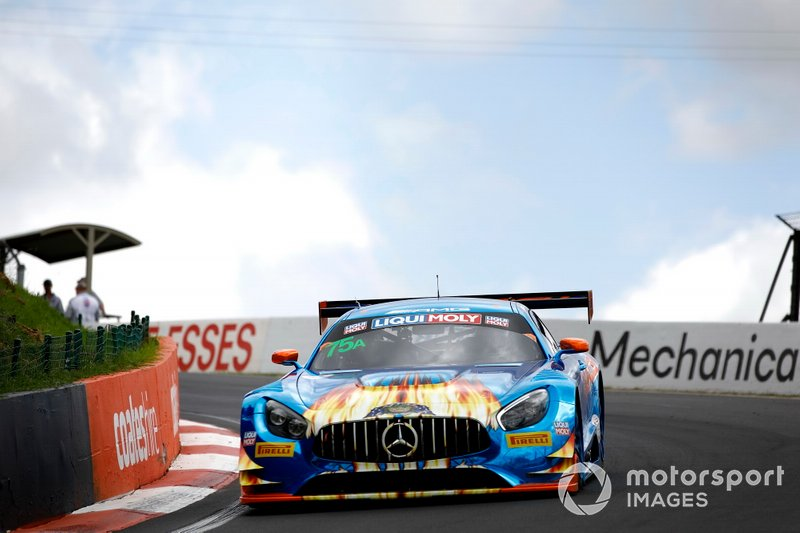DNF: #75 SunEnergy1 Racing Mercedes AMG GT GT3: Kenny Habul, Dominik Baumann, Thomas Jäger