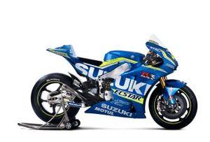 Suzuki MotoGP 2016 detalle de la moto