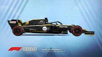 Livrée Renault dans F1 2019