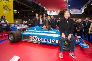 Jean-Pierre Jabouille à la conférence de presse du Grand Prix de France Historique à Rétromobile