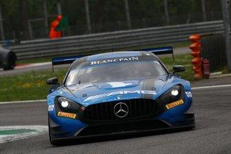 #4 Black Falcon Mercedes-AMG GT3: Yelmer Buurman, Maro Engel, Luca Stolz