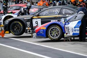 #9 Boutsen Ginion BMW M6 GT3: Karim Ojjeh, Philippe Steveny, Marc Rostan
