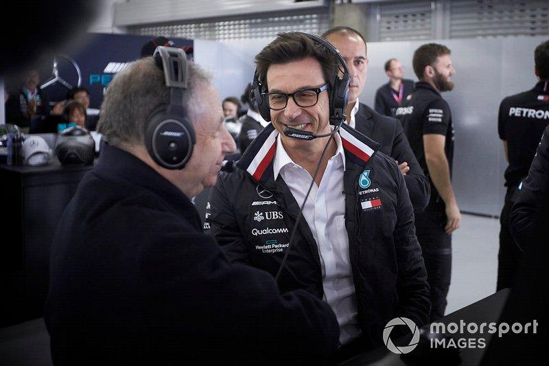 Jean Todt y Toto Wolff, Mercedes AMG