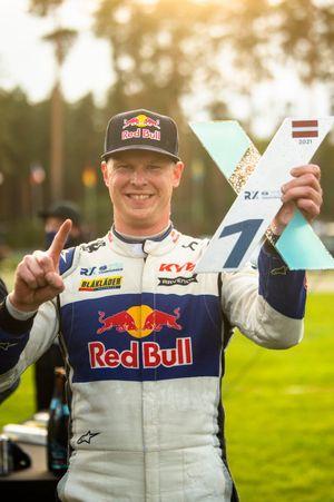 Le vainqueur Johan Kristoffersson, KYB EKS JC Audi S1