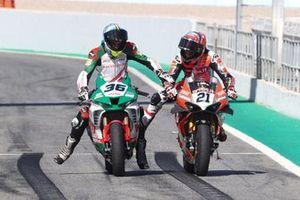 Leonardo Mercado, Michael Ruben Rinaldi, Aruba.It Racing - Ducati