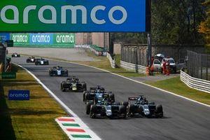 Alessio Deledda, HWA Racelab, Jake Hughes, HWA Racelab, Roy Nissany, Dams, Dan Ticktum, Carlin