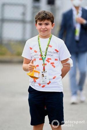 Emerson Fanucchi Fittipaldi, zoon van Emerson Fittipaldi