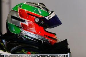#18 1 Aim Villorba Corse Ligier JS P320 - Nissan LMP3, Damiano Fioravanti, helmet