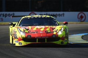 #57 Kessel Racing Ferrari 488 GTE EVO LMGTE Am of Takeshi Kimura, Scott Andrews, Mikkel Jensen