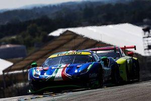 #47 Cetilar Racing Ferrari 488 GTE EVO LMGTE Am di Roberto Lacorte, Giorgio Sernagiotto, Antonio Fuoco