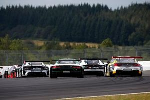 Markus Winkelhock, Abt Sportsline Audi R8 LMS GT3, Timo Glock, ROWE Racing, BMW M6 GT3