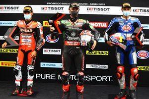 Michael Ruben Rinaldi, Aruba.It Racing - Ducati, Jonathan Rea, Kawasaki Racing Team WorldSBK, Toprak Razgatlioglu, PATA Yamaha WorldSBK Team