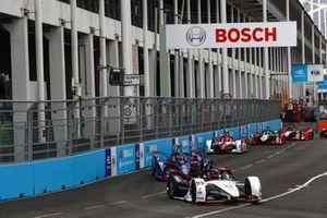 Pascal Wehrlein, Porsche, Porsche 99X Electric, Robin Frijns, Envision Virgin Racing, Audi e-tron FE07, Sergio Sette Camara, Dragon Penske Autosport, Penske EV-5