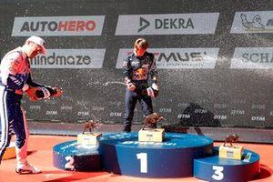 Podium: Maximilian Götz, Haupt Racing Team, Liam Lawson, AF Corse