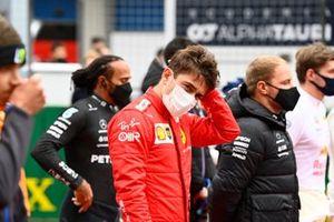 Charles Leclerc, Ferrari, op de grid