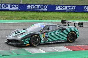 #308 Kessel Racing, Ferrari 488 Challenge Evo: Nicolò Rosi, Andrea Fausti