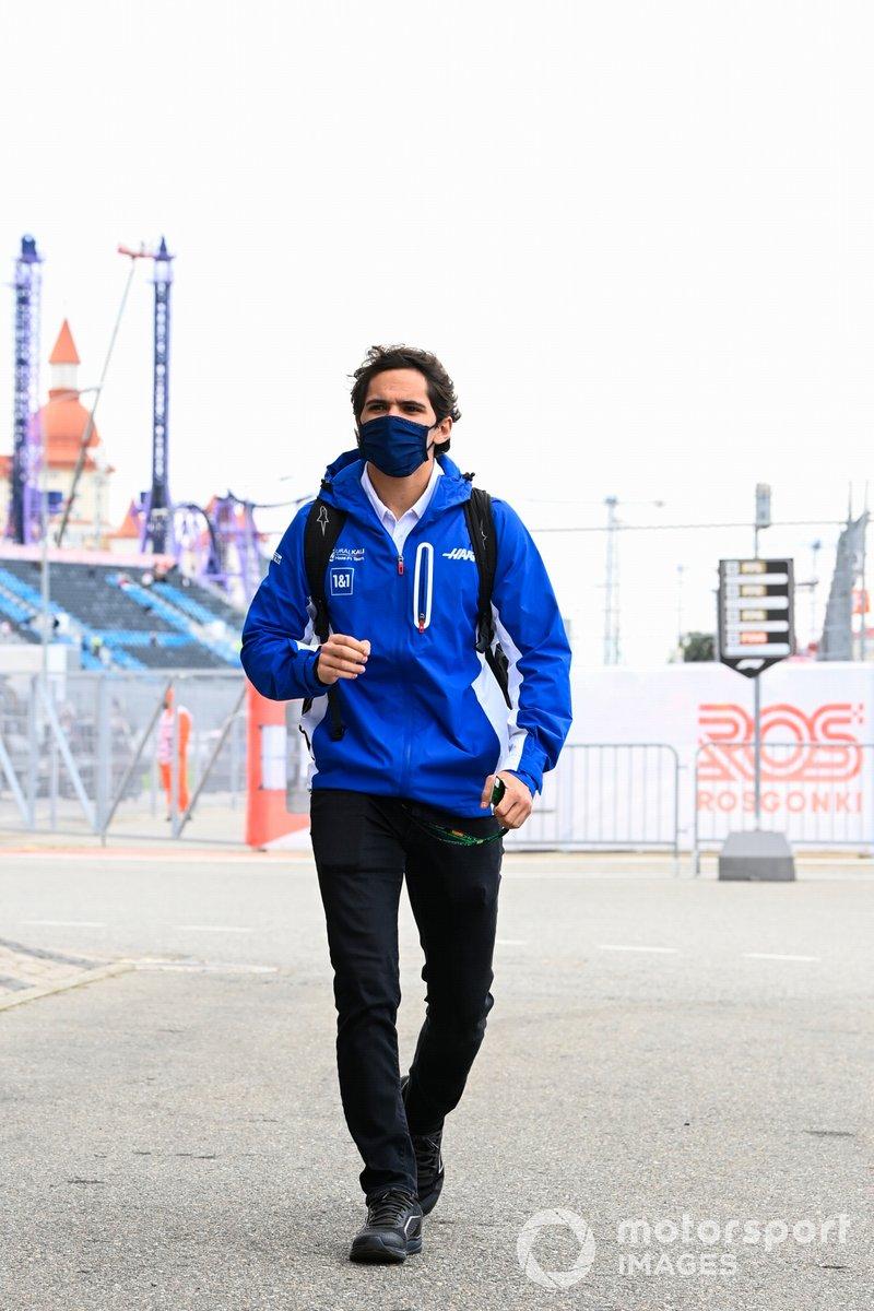 Pietro Fittipaldi, piloto reserva de Haas F1