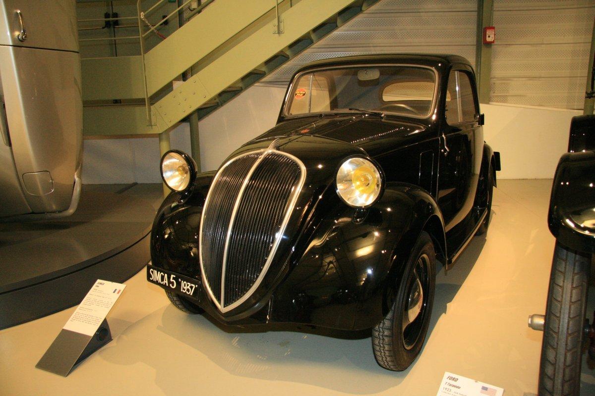 1935年:シムカ・サンク(SIMCA Cinq)