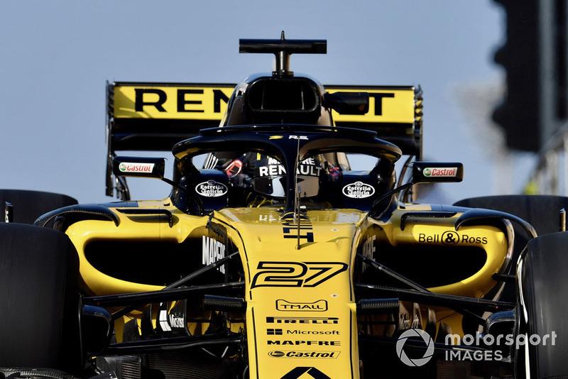 Renault F1 Team: edad promedio 30