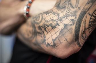 Scott Redding, Aprilia Racing Team Gresini, Tattoo