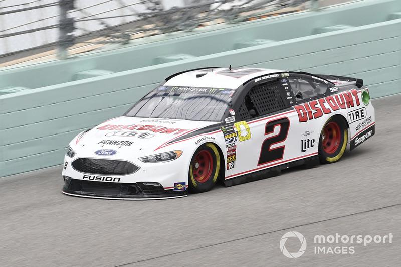 4. Brad Keselowski, Team Penske, Ford Fusion Discount Tire