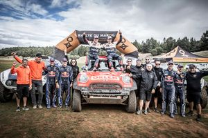 #300 Orlen Team / X-Raid: Jakub Przygonski, Tom Colsoul, #307 X-Raid Mini John Cooper Works Buggy Team: Carlos Sainz, Lucas Cruz, #309 X-Raid Mini John Cooper Works Buggy Team: Cyril Despres, Jean-Paul Colet