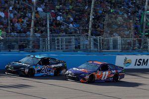 Denny Hamlin, Joe Gibbs Racing, Toyota Camry FedEx Ground, Erik Jones, Joe Gibbs Racing, Toyota Camry Sirius XM