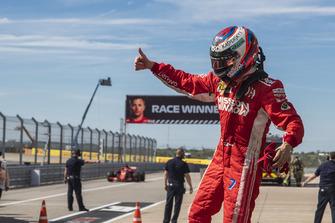 Kimi Raikkonen, Ferrari in parc ferme