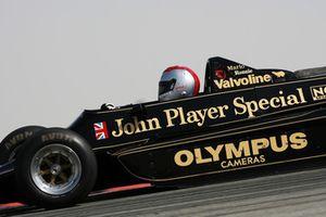 Mario Andretti in his 1978 Lotus 79