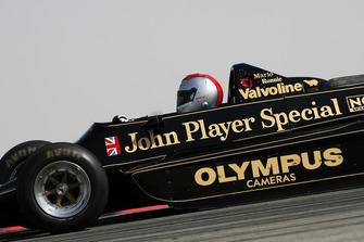 Mario Andretti nella sua Lotus 79 del 1978