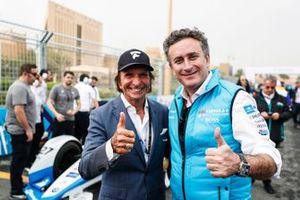 Alejandro Agag, CEO, Formula E, Emerson Fittipaldi