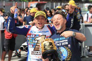 Хорхе Мартин, Del Conca Gresini Racing, и Фаусто Грезини