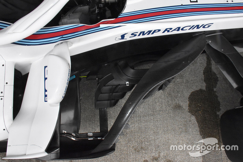 Williams FW41 bargeboardok