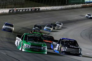 Ben Rhodes, ThorSport Racing, Ford F-150 The Carolina Nut Co and Brennan Poole, NextGen Motorsports, Toyota Tundra Inspectra Thermal Solutions