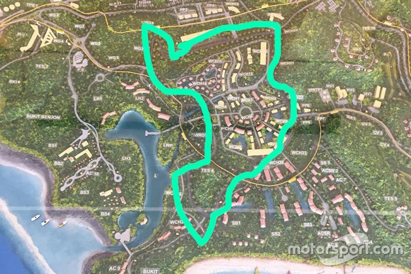 Peta sirkuit MotoGP Indonesia di Mandalika, Lombok