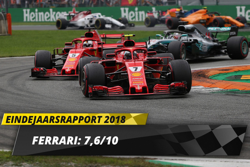 Eindrapport 2018: Ferrari