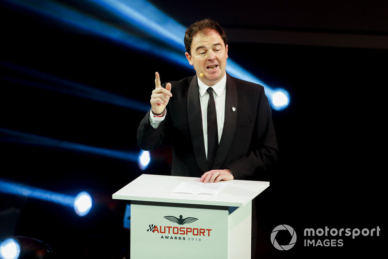 Motorsport Network President James Allen