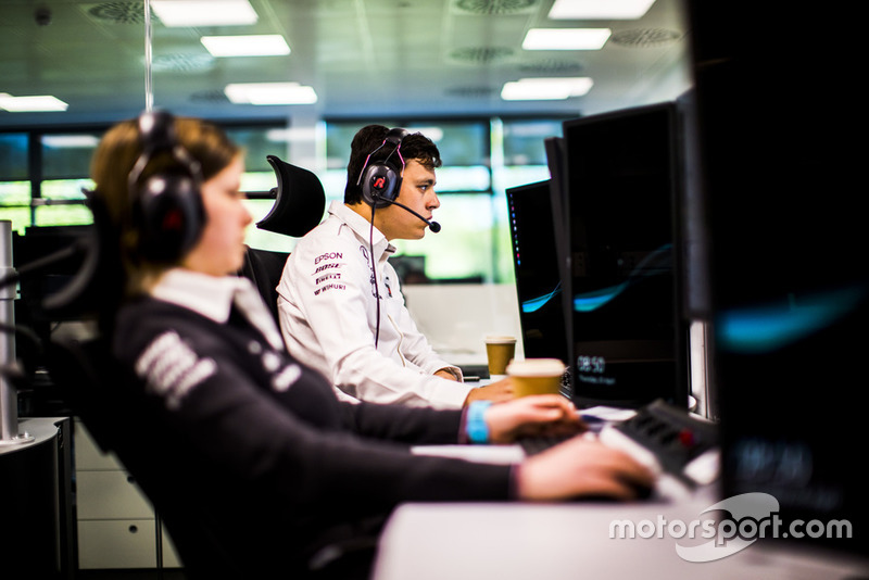 Mercedes-AMG Motorsport, Sala de Apoyo de Carrera