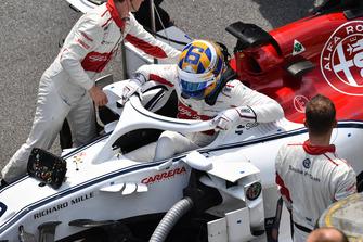 Marcus Ericsson, Alfa Romeo Sauber C37 on the grid