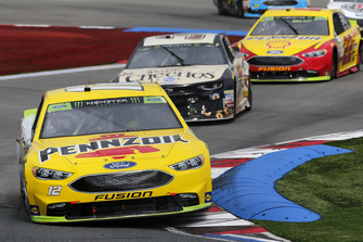Ryan Blaney, Team Penske, Ford Fusion Menards/Pennzoil