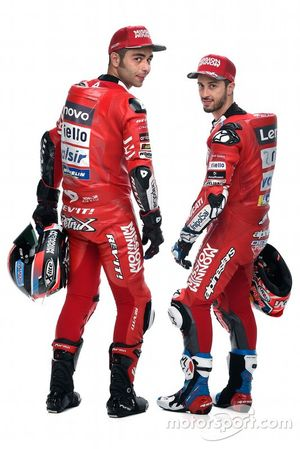 Andrea Dovizioso et Danilo Petrucci, Ducati Team