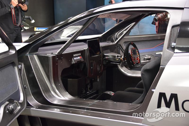 Nissan LEAF NISMO RC cockpit