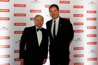 Президент FIA Жан Тодт и президент Motorsport Network Джеймс Аллен