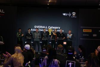 Premiazioni Super Trofeo Lamborghini 2018