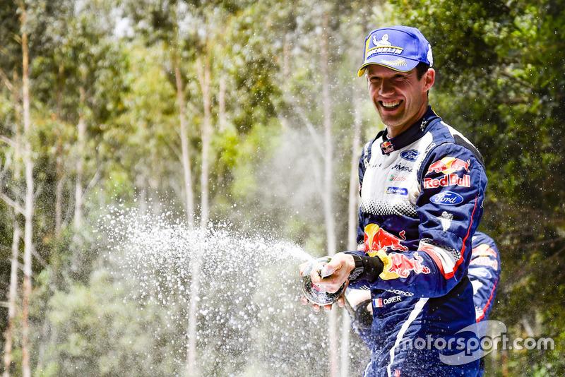 Il Campione 2018 del WRC Sébastien Ogier, M-Sport Ford