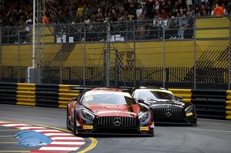 #888 Mercedes-AMG Team GruppeM Racing Mercedes - AMG GT3: Maro Engel, #1 Mercedes-AMG Team GruppeM Racing Mercedes - AMG GT3: Edoardo Mortara